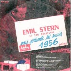 Discos de vinilo: EMIL STERN - VOUS PRESENTE LES SUCCES 1956 - MINI LP 10. Lote 11656376