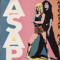 Discos de vinilo: ASAP / MEGASAP MIX (MAXI ENFASIS DE 1993). Lote 26985418