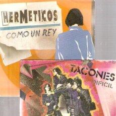 Discos de vinilo: 14 SINGLES GRUPOS 80´S & 90´S: HERMETICOS, TACONES, ACUSADOS, MARINOS, ARMAS BLANCAS, INTRUSOS, ETC . Lote 24880466