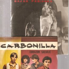 Discos de vinilo: 17 SINGLES GRUPOS 80´S & 90´S: CARBONILLA, SEXO SALVAJE,LA COSTA,,RELEVOS,FECUNDACION IN VITRO,ETC. Lote 25301946