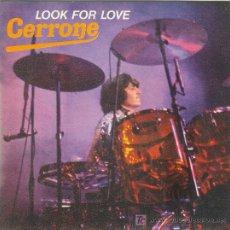 Discos de vinilo: UXV CERRONE DISCO SG VINILO CARATULA NUEVO SIN USAR FUNK DISCO ELECTRONIC LOOK FOR LOVE 1979. Lote 26256136