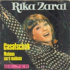 Vinyl records - UXV RIKA ZARDI DISCO SG VINILO CASATSCHOK MAÑANA SERA MAÑANA CANTANTE ISRAEL - FRANCIA 1969 - 12324131