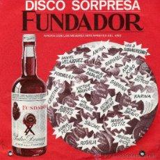 Discos de vinilo: DANIEL VELÁZQUEZ (DISCO SORPRESA FUNDADOR). Lote 17425151