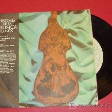 Discos de vinilo: HISTORIA DE LA MUSICA CODEX. NACIMIENTO DE LA SINFONIA. 33 R.P.M.. Lote 11697418