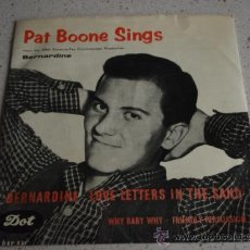 Discos de vinilo: PAT BOONE ( BEYOND THE SUNSET - THE FAITHFUL HEART ) USA SINGLE45 DOT. Lote 11717609