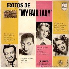 Discos de vinilo: SINGLE VINILO - EXITOS DE MY FAIR LADY - 1958. Lote 23373695