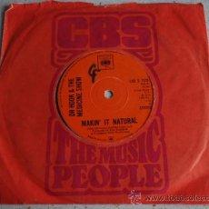 Discos de vinilo: DR HOOK & THE MEDICINE SHOW ( MAKIN' IT NATURAL - SYLVIA'S MOTHER ) USA-1972 SINGLE45 CBS. Lote 11735654