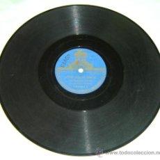 Discos de vinilo: DISCO PIZARRA ODEON -VITO-PASODOBLE FLAMENCO & NARCISSE-FILM LA TABERNA-ORQ. CONSTANTINO. Lote 26171983