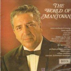 Discos de vinilo: MANTOVANI - THE WORLD OF MANTOVANI - LP 1968. Lote 11790302