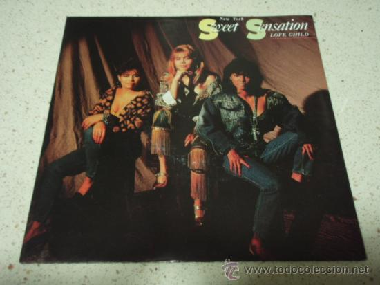 NEW YORK'S SWEET SENSATION ( LOVE CHILD - CHILD OF LOVE ) USA 1990-GERMANY SINGLE45 ATCO (Música - Discos - Singles Vinilo - Disco y Dance)