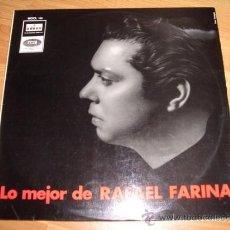 Discos de vinilo: RAFAEL FARINA. Lote 25518736