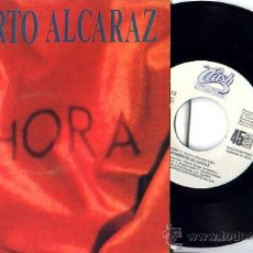 Discos de vinilo: ROBERTO ALCARAZ SINGLE PROMO ENVÍO INCLUIDO. Lote 11819401