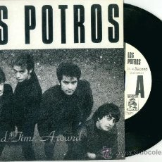 Discos de vinilo: LOS POTROS. SECOND TIME AROUND (VINILO-SINGLE + POSTER 1989). Lote 11824369