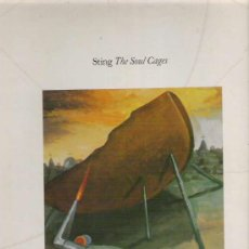 Discos de vinilo: STING - THE SOUL CAGES *** 1991 WEA. Lote 11826252