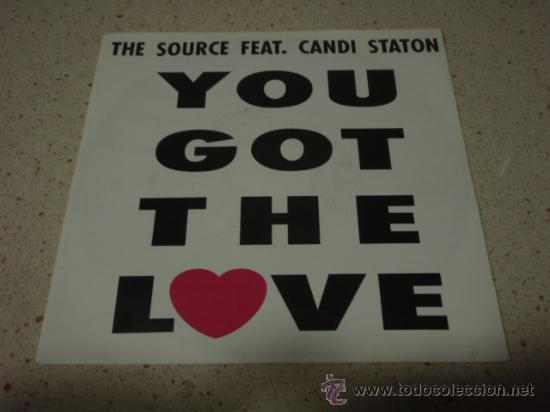 THE SOURCE – YOU GOT THE LOVE DENMARK 1991 MEGA RECORDS (Música - Discos - Singles Vinilo - Techno, Trance y House)