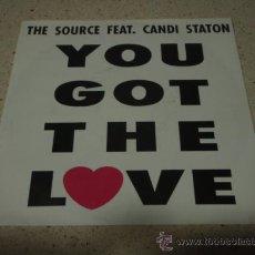 Discos de vinilo: THE SOURCE ?– YOU GOT THE LOVE DENMARK 1991 MEGA RECORDS. Lote 11827317