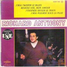 Discos de vinilo: RICHAD ANTHONY - TWISTER LE BLUES *** EP COLUMBIA. Lote 11828213