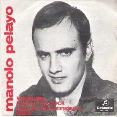 Discos de vinilo: MANOLO PELAYO - REGRESARE **** 1966 COLUMBIA. Lote 14525394
