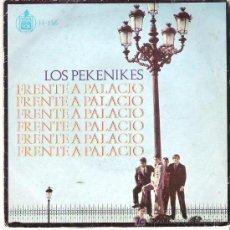 Discos de vinilo: PEKENIKES - FRENTE A PALACIO ** 1966 HISPAVOX. Lote 13772597