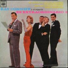 Discos de vinilo: RAY CONNIFF - EL ARRULLO DE LOS PÁJAROS / JUNIO EN ENERO / ESE VIEJO SENTIMIENTOS - EP 1963 NUEVO. Lote 11858231