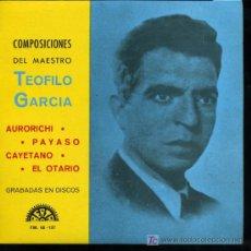 Discos de vinilo: FRANCISCO / MANOLI SEGOVIA - AURORICHI / PAYASO / CAYETANO / EL OTARIO - EP 1972. Lote 11860167