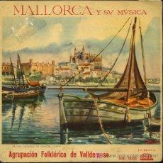 Discos de vinilo: AGRUPACIÓN FOLKLORICA DE VALLDEMOSA - MATEIXA AMOROSA / JOTA DE SA POTADA, ETC - EP 196?. Lote 11866345