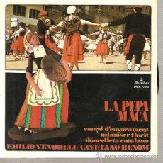 Discos de vinilo: EP SARDANES - COBLA BARCELONA + ORFEO DE RADIO BARCELONA + CAYETANO RENOM. Lote 21845935