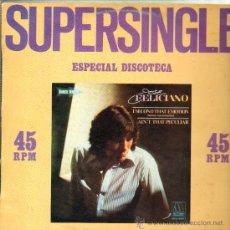 Discos de vinilo: JOSE FELICIANO .. ESPECIAL DISCOTECA .. MAXI SINGLE. Lote 11872255