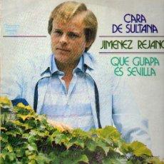 Discos de vinilo: CARA DE SULTANA .. JIMENEZ REJANO .. QUE GUAPA ES SEVILLA .. LP. Lote 136331096