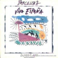 Discos de vinilo: JAMES LAST AND HIS ORCHESTRA - BARCELONA - SINGLE PROMOCIONAL ESPAÑOL DE 1992. Lote 11879923