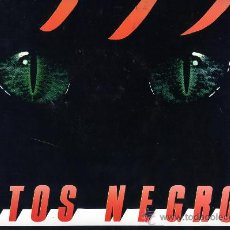 Discos de vinilo: GATOS NEGROS. MAXI SINGLE 12. Lote 26496660