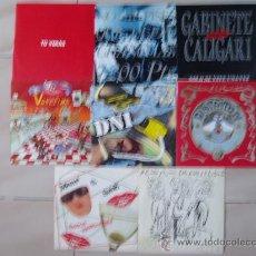 Discos de vinilo: LOTE POP ESPAÑOL 8 SINGLES. Lote 27131845