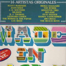 Discos de vinilo: MADE IN USA -THE BYRDS / MELE HAGGARD / LEONARD COHEN / LOU REED *** 1980 K-TEL. Lote 11901522