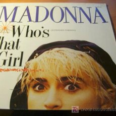 Discos de vinilo: MADONNA ( WHO'S THAT GIRL) MAXI SINGLE 45 RPM GERMANY (VIN). Lote 11903290
