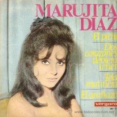 Discos de vinilo: MARUJITA DIAZ EP SELLO VERGARA EDITADO AÑO 1966. Lote 11907526