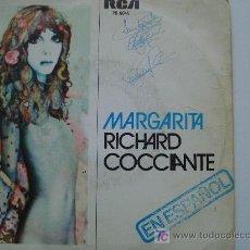 Dischi in vinile: RICHARD COCCIANTE EN ESPAÑOL / MARGARITA. Lote 11913285