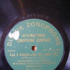Discos de vinilo: LAS 4 TEMPORADAS DEL AMOR, UNA CARA. Lote 26604978
