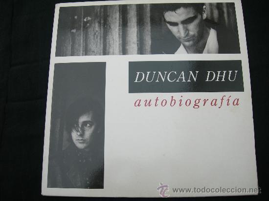 LP DUNCAN DHU / AUTOBIOGRAFIA / DOBLE LP (Música - Discos - LP Vinilo - Grupos Españoles de los 70 y 80)