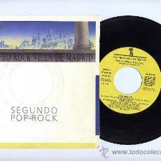 Discos de vinilo: DELGUETTO. VINILO SINGLE 45 RPM. HUYE DE AQUI. COPIA PROMOCIONAL. AÑO 1986. Lote 26698110