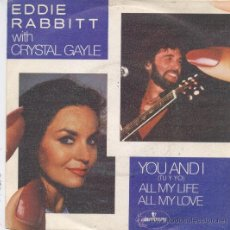 Dischi in vinile: EDDIE RABBITT CON CRYSTAL GAYLE,YOU AND I DEL 82. Lote 11953933