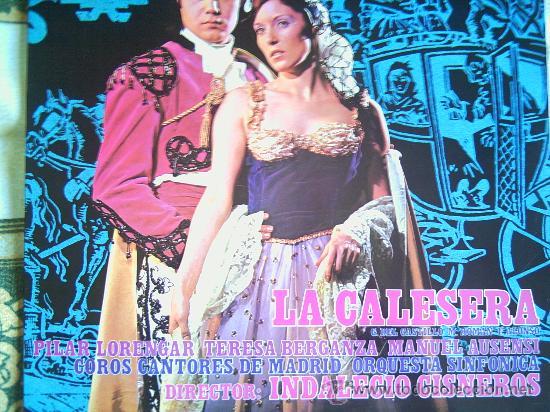 PILAR LORENGAR Y OTROS,LA CALESERA (Música - Discos - LP Vinilo - Clásica, Ópera, Zarzuela y Marchas)