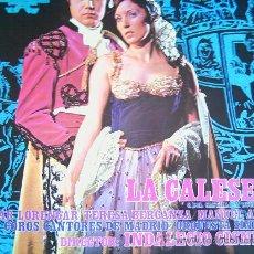 Discos de vinilo: PILAR LORENGAR Y OTROS,LA CALESERA. Lote 11962094