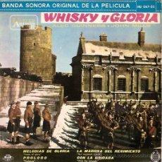 Discos de vinilo: BANDA SONORA DEL FILM WHISKY Y GLORIA EP SELLO HISPAVOX AÑO 1961. Lote 11982074