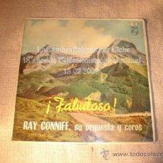 Discos de vinilo: ANTIGUO DISCO RARO SINGLE COLOR AZUL PHILIPS, FABULOSA, AÑO 1962.. Lote 11992195
