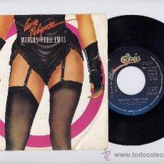 Discos de vinilo: CURVAS PELIGROSAS. VINILO SINGLE 45 RPM. MAGNOS PROBLEMAS. EPIC AÑO 1985. Lote 27569556