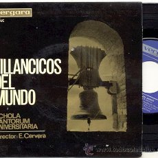 Discos de vinilo: EP 33 RPM / SCHOLA CANTORUM UNIVERSITARIA // EDITADO POR VERGARA1966 N UEVO . Lote 99238454