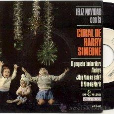 Discos de vinilo: EP 33 RPM /CORAL DE HARRY SIMEONE / EL PEQUEÑO TAMBORILERO // EDITADO POR VERGARA 1965 NUEVO. Lote 12007595