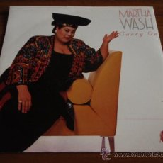Discos de vinilo: MARTHA WASH ( GARRY ON ORIGINAL 7' EDIT & MASTERS AT WORK 7' MIX ) ENGLAND-1992 SINGLE45 RCA. Lote 12013107