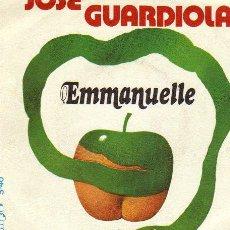 Discos de vinilo: JOSÉ GUARDIOLA / EMMANUELLE - EVA 1.974. Lote 19232416