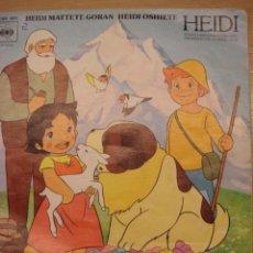 Discos de vinilo: DDISCO DE HEIDI. Lote 26276666